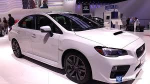 subaru automatic 2016 subaru wrx awd exterior and interior walkaround 2015 la