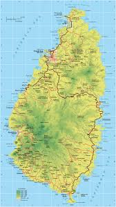 Physical Map North America by Maps Of Saint Lucia Map Library Maps Of The World