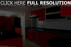 bathroom fascinating adorable black and red kitchen designs plus
