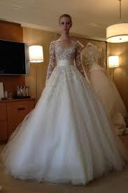 Wedding Dresses Shop Online 2015 New Arrival Long Sleeve Wedding Dresses Lace Applique A Line