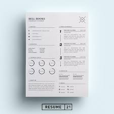 free minimalist resume designs free minimalistic cvresume templates with cover letter template