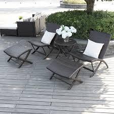 El Patio Furniture by Amazon Com Portfolio Aldrich Brown Indoor Outdoor 5 Piece Chair