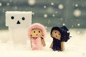 wallpaper danbo couple the snow danbo by brigitte fredensborg on deviantart