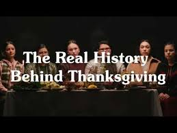 american describe the real history about thanksgiving