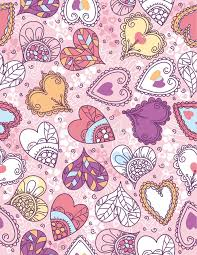 heart wrapping paper wrapping paper with hearts vector royalty free stock images