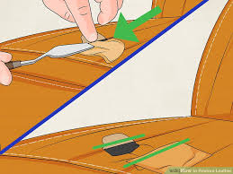 How To Fix A Tear In A Leather Sofa 4 Ways To Restore Leather Wikihow