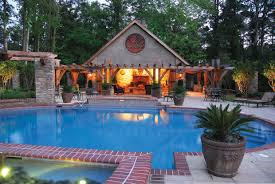 backyard cabana ideas outdoor living pool and patio decor attractive outdoor living