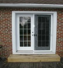 home design sliding french doors with screens window treatments