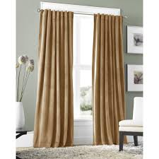 Walmart Velvet Curtains by Springmaid Velvet Back Tab Window Panel Walmart Com