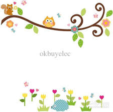 cute trees wall decals trees and owls cute owl on tree clipart cute owl