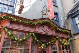 Harry Potter Home 6 Favorite Diagon Alley Decorations For A Harry Potter Christmas