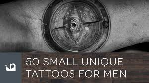 50 small unique tattoos for