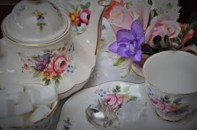vintage china vintage china tea cups saucers plates teapots for hire hibiscus