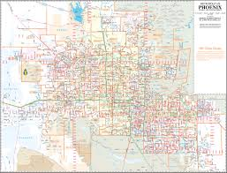Map Of Greater Phoenix Area by Buy Metropolitan Phoenix Arterial And Collector Streets Tax