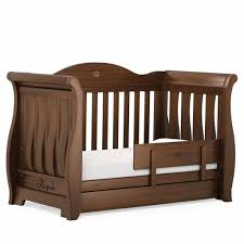 Boori Sleigh Cot Bed Boori Sleigh Royale Cot Bed Oak Baby Shower