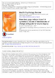 how does yoga reduce stress a systematic review of mechanisms of