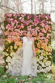 Wedding Backdrop Rustic The Hottest 2015 Wedding Trend 22 Flower Wall Backdrops