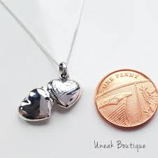 childrens locket buy mini silver engraved children s heart locket for 15 99