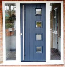 Exterior Doors Fitted Glazed Composite Front Door Door Design Ideas On