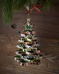 mackenzie childs stacking tree ornament