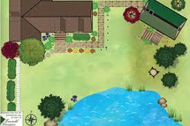 free online landscape design tool tree lawn and landscape software