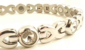 ladies magnetic bracelet images Ladies bling stones bio magnetic bracelet beautiful trendy jpg