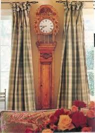 Silk Plaid Drapes Plaid Panel Curtains Foter