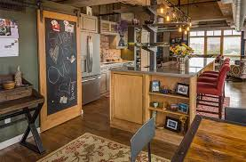 Kitchen Cabinets Des Moines Ia Warehouse Loft Gets A Customized Makeover Stays Urban Silent