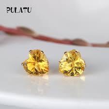 earrings for sale 9 color hot sale heart earring for girl 8mm stud earrings