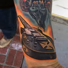 collection of 25 guitar tattoo