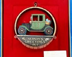 antique car ornament etsy