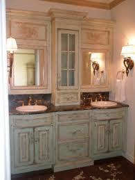 redoing bathroom ideas turned bathroom storage painted rust oleum s green