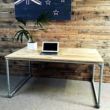 plywood coffee table plans diy plywood desk with pipe frame plans to build your own