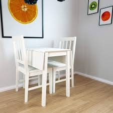 white drop leaf dining table new haven drop leaf dining set with 2 chairs in stone white