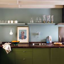 kitchens with shelves green blue and green kitchen making it lovely