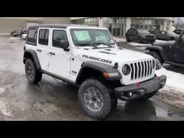 white jeep rubicon 2018 jeep wrangler jl rubicon in white youtube