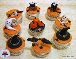 Halloween Cupcakes Cakes by Halloween Satin Ice