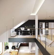 futuristic homes interior interior mezzanine creative home office inspiration futuristic