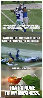 Dallas Cowboys Suck Memes - it s kinda funny how imgflip