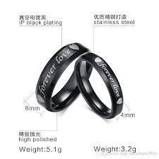 buy steel rings images Jewellery finger rings with forever love laser engraving ring for jpg