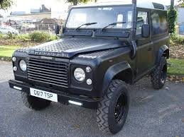 land rover defender 90 4c sw dt diesel black 1990 full mot in