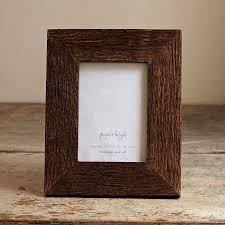 handmade wooden photo frame by paper high
