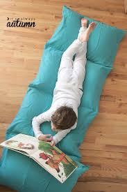 Kids Flip Out Sofa Bed With Sleeping Bag How To Make A Kids U0027 Pillow Bed The Easiest U0026 Cheapest Way It U0027s