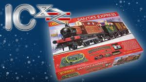 opening santa express train set from hornby youtube