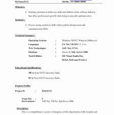 bca resume format for freshers pdf download amusing mba hr fresher resume sle for format free template