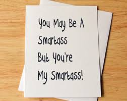 sarcastic cards etsy