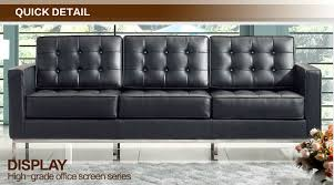 Florence Knoll Sofa Replica by Florence Knoll Leatehr Modern Living Room Sofa Replica Product