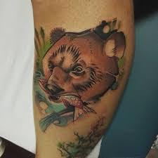 stunning grizzly bear tattoo ideas the wild tattoo
