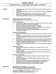 free manager resume format resume manager resume template 15 free sles