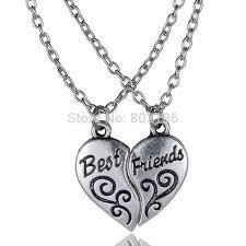 best necklace stores images Buy 2p quot best friends quot handstamped puzzle necklace jpg